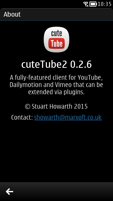 CuteTube 2 updated to version 2 0 5 3 [Update - not working now]